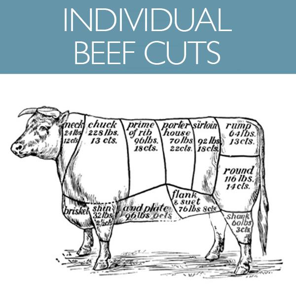 Individual Beef Cuts